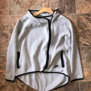 Nike's Tech fleece side zip hoodie